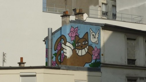 paris, 18e, Monsieur-Chat, thomas-Vuille, rue-myrha