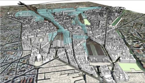 paris nord est, mairie 18, urbanisme