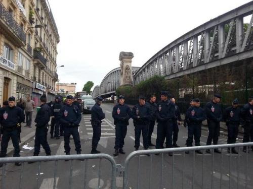 paris,chapelle,migrants,évacuation-2-Juin-2015