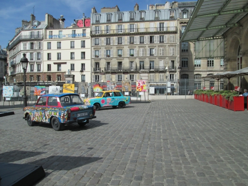 street art, gare de l'est, 10e
