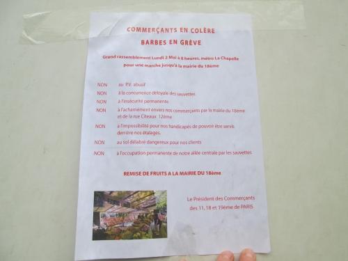 paris,paris 18e,commerce,marché barbès,manifestation