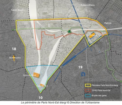 paris,paris 10e,paris 18e,paris nord-est élargi,urbanisme