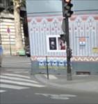 paris,barbès,louxor,voirie,cyclistes,pistes,piétons,affluence