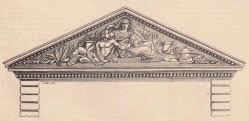 fronton jules girard 1861.jpg