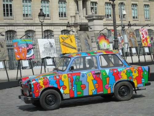 street art, gare de l'est, mur de Berlin