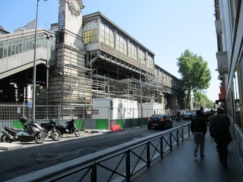 paris,barbès,chantier,travaux,métro,verrière,bd-chapelle
