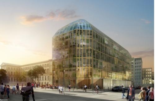 paris,paris 10e,balcon-vert,gare de l'est,gare du nord,hôpital lariboisière,réseau express vélo