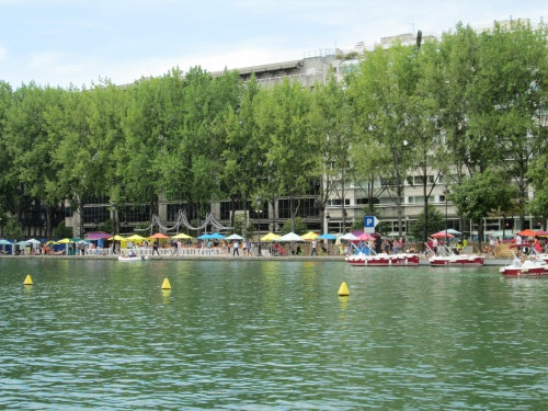 paris,canal villette,paris plage
