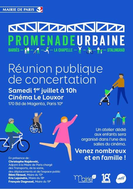 paris,paris 10e,paris 18e,promenade urbaine,dvd,louxor