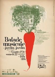paris,18e,goutte-d-or,jardin-partagé,balade-musicale