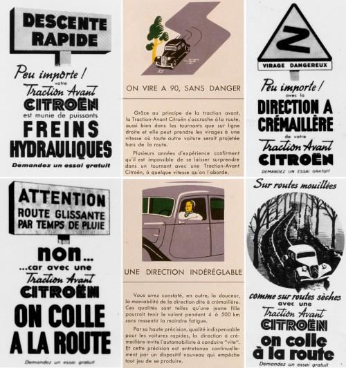andré-citroën,traction-avant,publicité,affiche