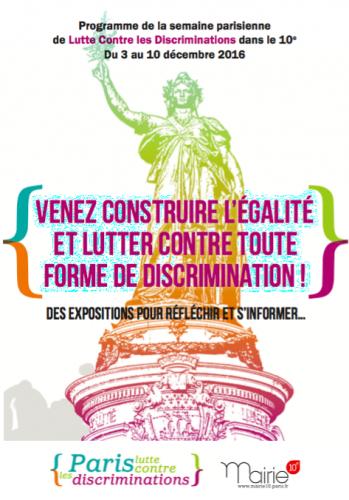 paris,paris 10e,discriminations,égalité