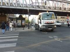 paris, 18e, barbès, métro, marché, sortie-guy-patin