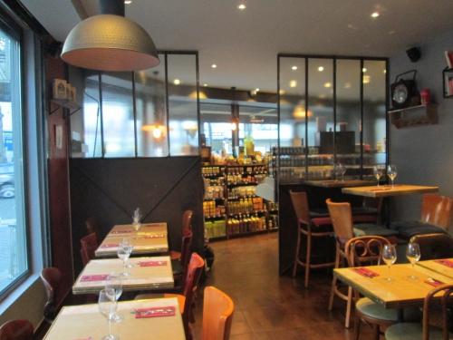 restaurant, 18ème, épicerie fine,