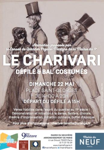 paris,charivari,fête de quartier,conseil de quartier
