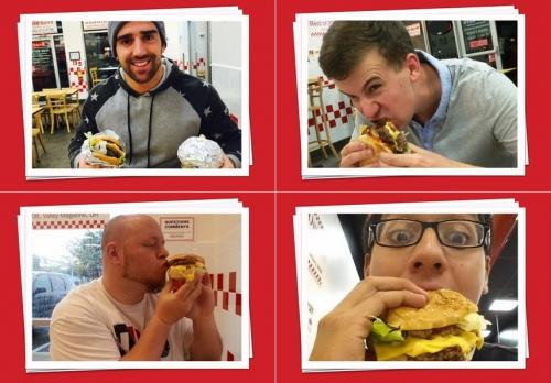 paris,10e,gare-de-l-est,five-guys,burger-king,restauration-rapide,fast-food