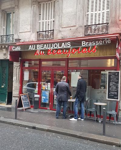 Paris, paris 9e, Café le Beaujolais,
