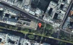 paris,république,johann-Strauss,piste-cyclable,vélo,travaux