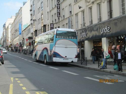 autocars,stationnement, 18ème,promenade urbaine