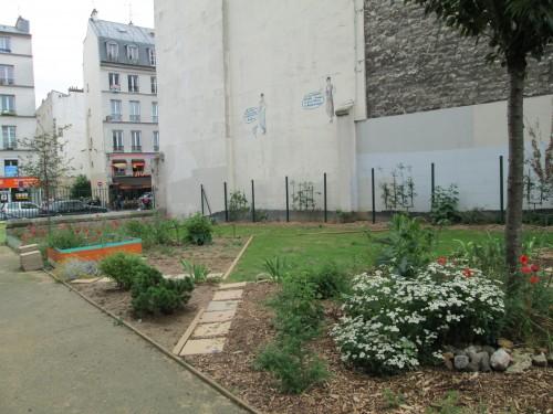square Saint-laurent, 10ème, jardin partagé