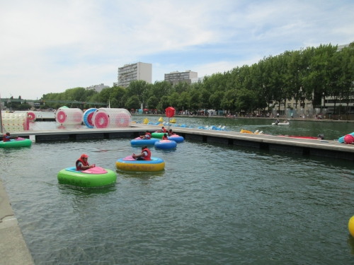 paris,canal villette,paris-plage