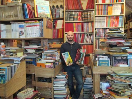 paris,paris 18e,bandes dessinées,rue pajol,libriairie