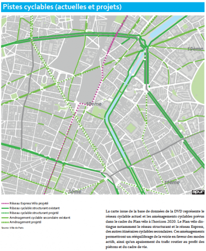 paris,vélo,transports,piste cyclable