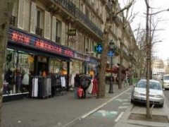 paris, 10e, magenta, piste-cyclable- étalages