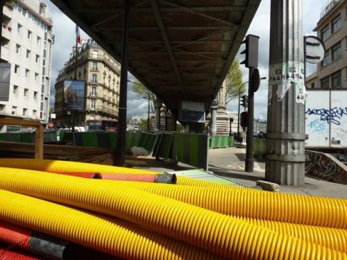 Paris,viaduc,Chapelle,matériaux,voirie