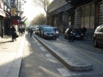 paris, 18e, bd de La Chapelle, travaux, Barbès, piste cyclable