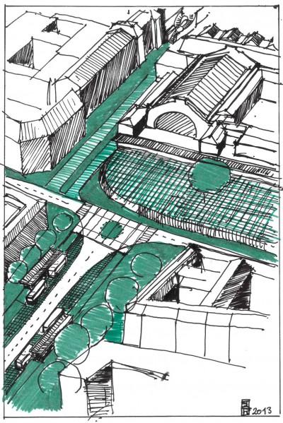 paris,10e,rue-d-alsace,gare-de-l-est,rémi-féraud,voirie,circulation,espace-public,sécurité-des-piétons,déplacements,urbanisme,balcon-vert