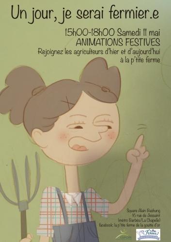 square-alain-bashung,ptite-ferme,18e,animation,enfants