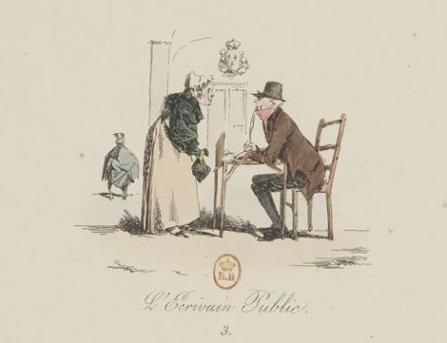 bibliothèque-de-la-goutte-d-or,18e,ecrivain-public
