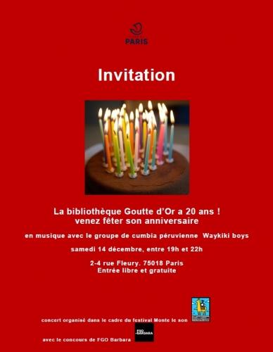 bibliothèque-de-goutte-d'or,anniversaire,18e