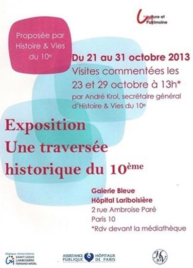 Histoire,lariboisière,Exposition,Visite,