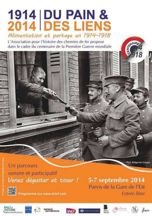 rails-et-histoire,ahicf,exposition,centenaire-1914-1918,grande-guerre,guerre-14-18,gare-de-l-est,école-boulle