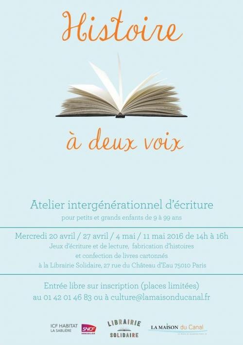paris,paris-10e,librairie-solidaire,atelier-d-écriture,culture,la-maison-du-canal
