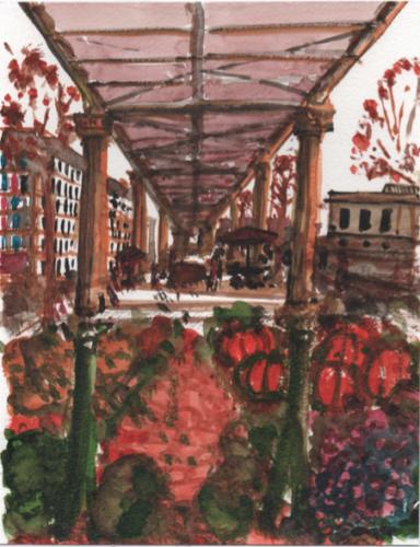 paris,promenade urbaine,marché,dsp