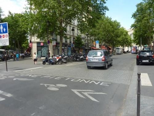 paris,paris 10e,gare du nord,boulevard de denain,voirie,circulation