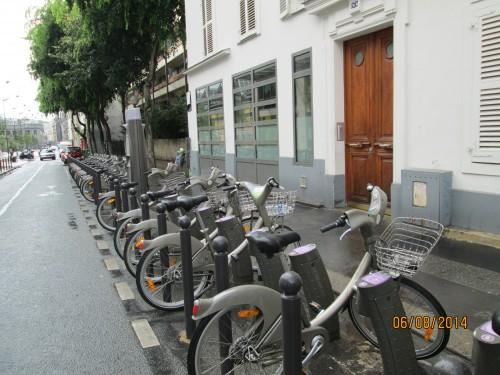Vélib, 18ème, rue Pajol