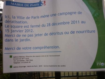 paris,18e,square-jessaint,rats,dératisation,salubrité-publique
