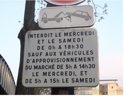 Paris, paris 10e, paris 18e, marché barbès, stationnement-illicite
