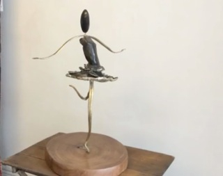 paris,art,18e,ange&dam,sculpture,soupape-ailée,burkina-faso