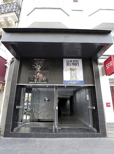 théâtre La Boussole, gare du nord, culture
