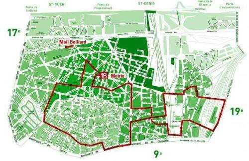 paris, 18e,bicylettes,vélo,promenade,montmartre,goutte-d-or,barbès