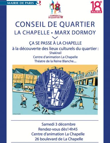 paris,conseil de quartier,la chapelle