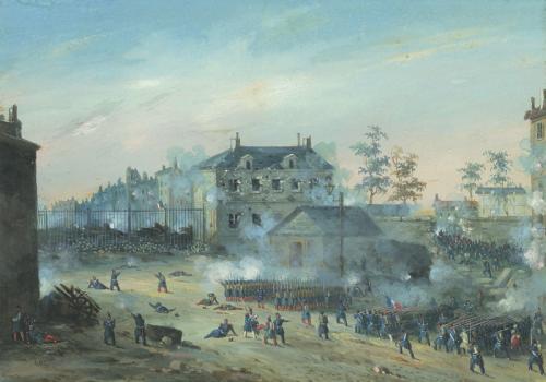 BAZIN_Eugène-LA_PRISE_DE_LA_BARRIÈRE_POISSONNIÈRE_PAR_LA_GARDE_NATIONALE_EN_1848.png