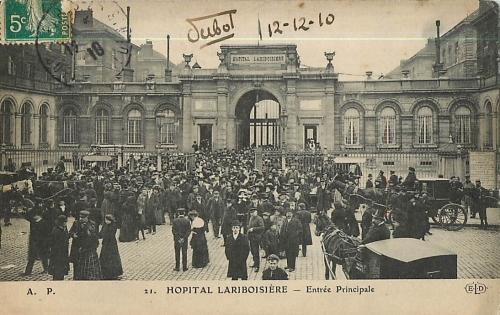 lariboisière,histoire,hôpitalit