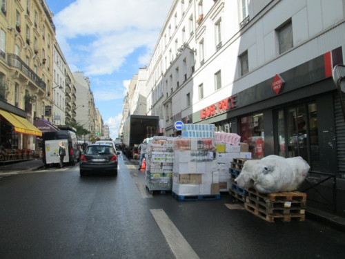 rue de Clignancourt- livraison
