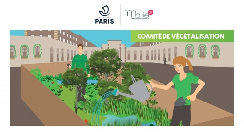 végétalisation,10e,comité
